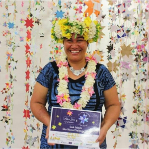 Kurere Tuaputa Cook Islands Star Weaver