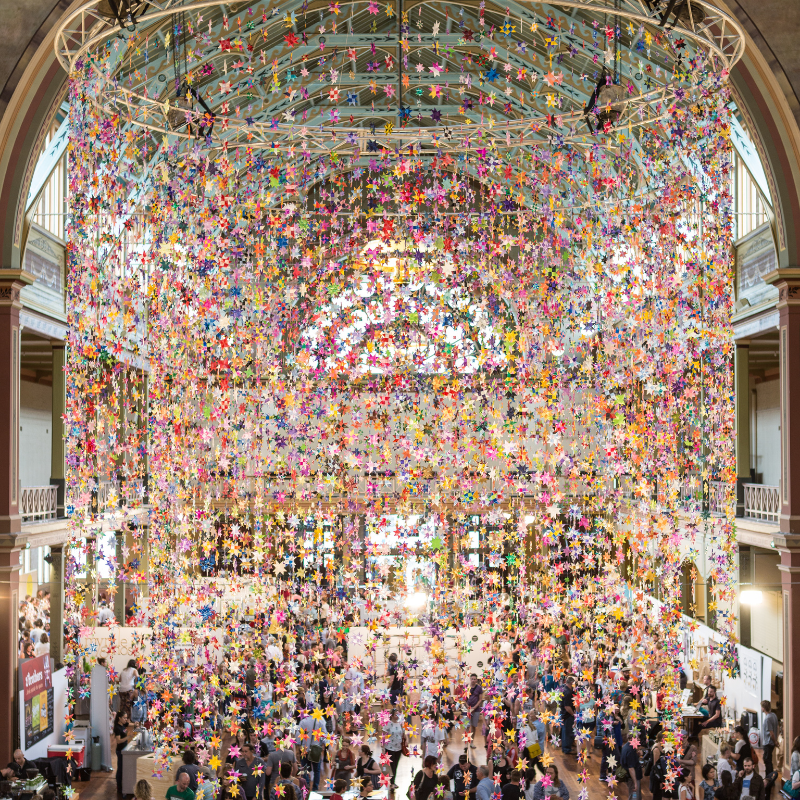 12,000 stars displayed at The Big Design Market 2012