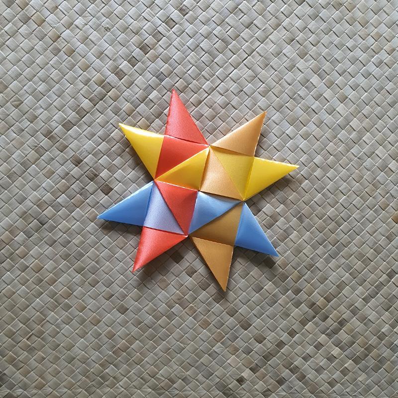 Technique 2: 4 large triangles.